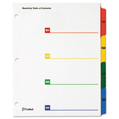 CRD60940 - Cardinal® OneStep® Printable Table of Contents and Dividers - Double Column