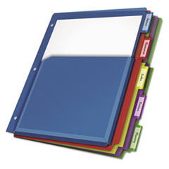 CRD84012 - Cardinal® Expanding Pocket Multicolor Index Dividers
