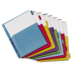 CRD84013 - Cardinal® Expanding Pocket Multicolor Index Dividers