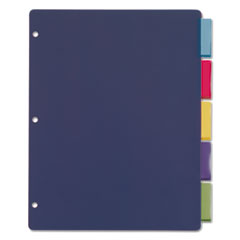 CRD84018 - Cardinal® Poly Index Dividers for Ring Binders