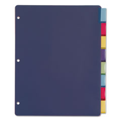 CRD84019 - Cardinal® Poly Index Dividers for Ring Binders