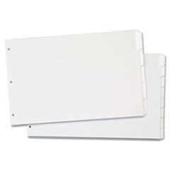 CRD84270 - Cardinal® Write 'n Erase® Tabloid Index Dividers