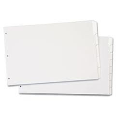 CRD84271 - Cardinal® Write 'n Erase® Tabloid Index Dividers