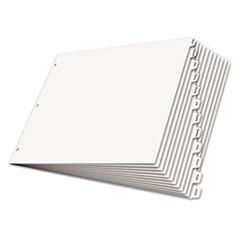 CRD84272 - Cardinal® Write n Erase® Tabloid Index Dividers