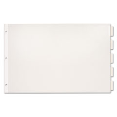 CRD84812 - Cardinal® Paper Insertable Dividers