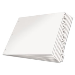 CRD84815 - Cardinal® Paper Insertable Dividers