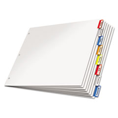 CRD84816 - Cardinal® Paper Insertable Dividers