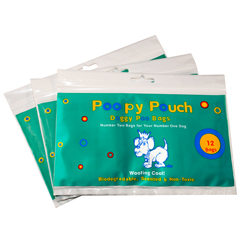 CRPPP-R-12-144 - Crown ProductsPoopy Pouch Pet Waste Bags
