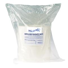 CRPWA-WIPES-800 - Crown ProductsWipe-A-Way Facilty Wipes