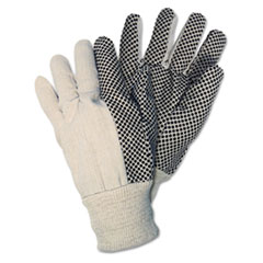 CRW8808 - Memphis™ Mens Dotted Canvas Gloves