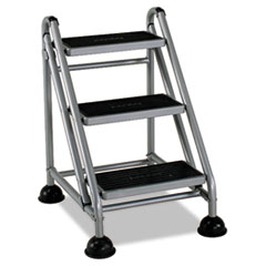 CSC11834GGB1 - Cosco® Rolling Commercial Step Stool