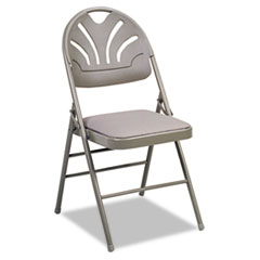 CSC36875KNT4 - Bridgeport™ Fanfare™ Fabric Padded Seat Deluxe Molded Back Folding Chair