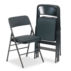 CSC36885CVB4 - Bridgeport™ Deluxe Fabric Padded Seat and Back Folding Chair