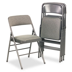CSC36885CVG4 - Bridgeport™ Deluxe Fabric Padded Seat and Back Folding Chair