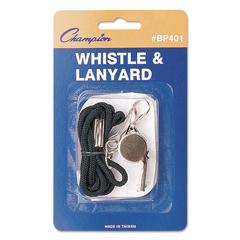 CSIBP401 - Champion Sports Whistle with Lanyard