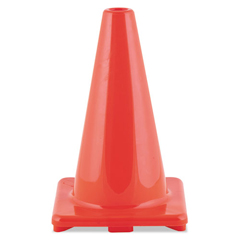 CSIC12OR - Champion Sports Hi-Visibility Vinyl Cones