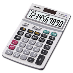 CSOJF100BM - JF100MS Desktop Calculator, 10-Digit LCD