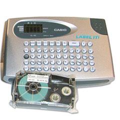 CSOKL60SRUST - Casio® KL60SR Compact EZ-Label Label-it! Label Maker and Tape Set