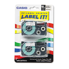 CSOXR18X2S - Casio® Tape Cassette for KL Label Makers
