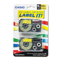CSOXR18YW2S - Casio® Tape Cassette for KL Label Makers