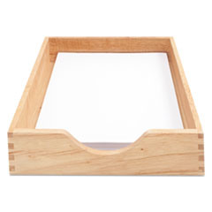 CVR07211 - Carver™ Hardwood Stackable Desk Trays