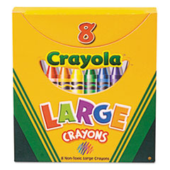 CYO520080 - Crayola® Large Crayons