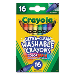 CYO526916 - Crayola® Washable Crayons