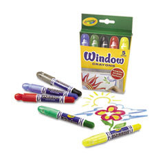 CYO529765 - Crayola® Washable Window Crayons