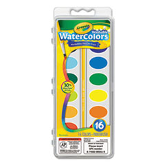 CYO530555 - Crayola® Washable Watercolor Paint