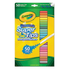 CYO585050 - Crayola® Washable Super Tips Markers with Silly Scents™