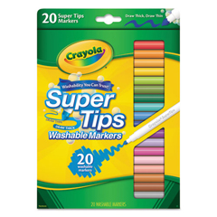 CYO588106 - Crayola® Washable Super Tips Markers