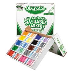 CYO588200 - Crayola® Washable Marker Classpack®