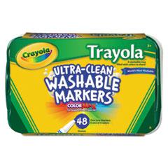 CYO588214 - Crayola® Trayola™ Washable Markers
