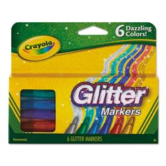 CYO588629 - Crayola® Glitter Markers