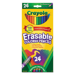 CYO682424 - Crayola® Erasable Color Pencil Set
