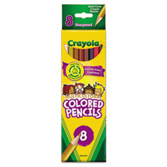 CYO684208 - Crayola® Multicultural Eight-Color Pencil Pack