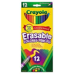 CYO684412 - Crayola® Erasable Color Pencil Set