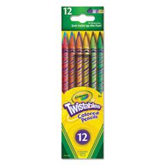 CYO687408 - Crayola® Twistables® Colored Pencils
