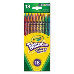 CYO687418 - Crayola® Twistables® Colored Pencils