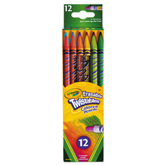 CYO687508 - Crayola® Twistables® Erasable Colored Pencils 12-Pack