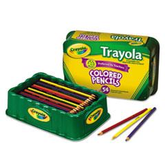 CYO688054 - Crayola® Pencil Trayola™ Nine-Color Set, 54-Pack