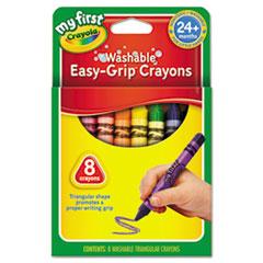 CYO811308 - Crayola® My First ™ Triangular Crayons