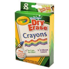 CYO985200 - Crayola® Dry Erase Crayons