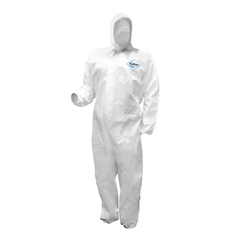 HSCDA-MP334 - HospecoProWorks® Liquid & Particulate Coverall-Elastic Wrist Ankles & Hood
