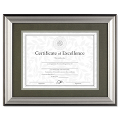 DAXN15783ST - DAX® Charcoal/Nickel-Tone Document Frame