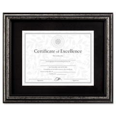 DAXN15790ST - DAX® Antique Brushed Charcoal Wood Finish Document Frame