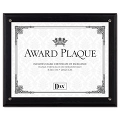 DAXN15908NT - DAX® Award Plaque with Clear Front Cover