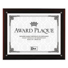 DAXN15909NT - DAX® Award Plaque with Easel
