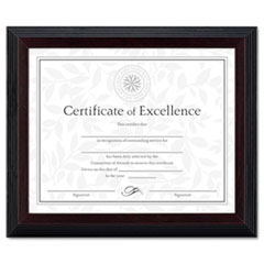 DAXN19880BT - DAX® Wood Finish Award/Certificate Frame
