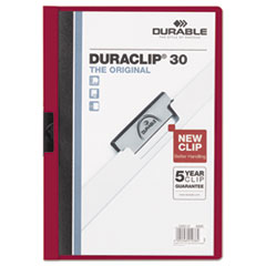 DBL220331 - Durable® DuraClip® Report Cover